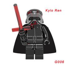Starwars The Rise of Skywalker Legoelys Starwars Poe Dameron The Man Rhoda Rey Finn Darth Vader Lando Calrissian строительные блоки(Китай)