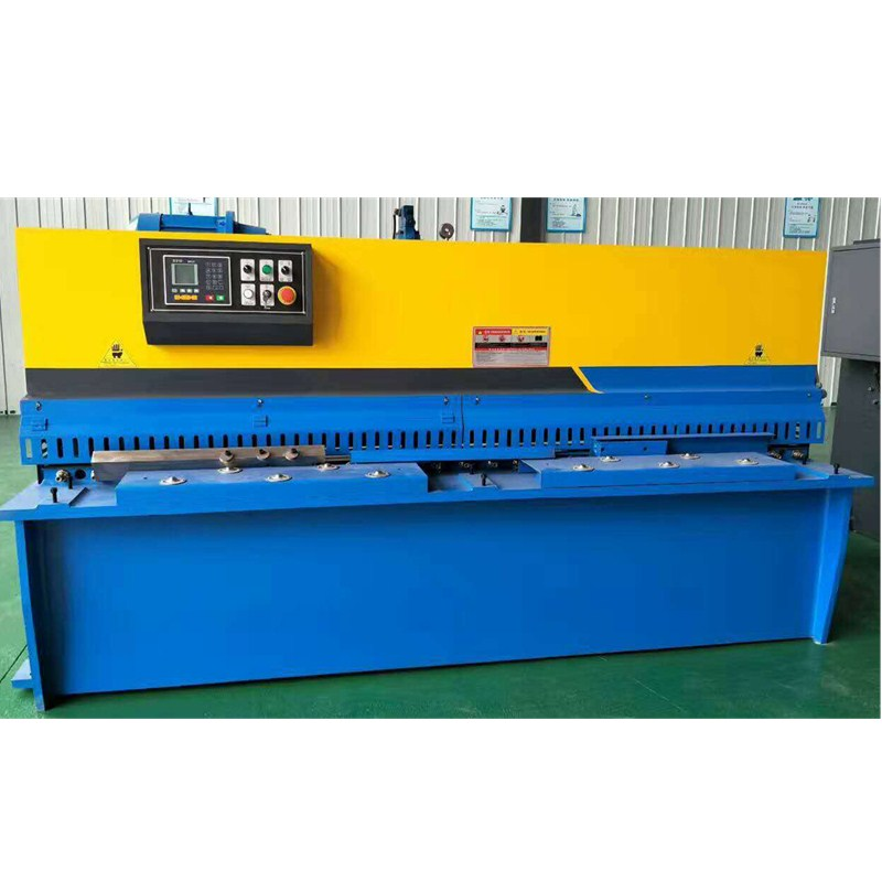 China Numerical control system shearing machine golden supplier/E21S control system steel shearing machine/cnc sheet metal shear