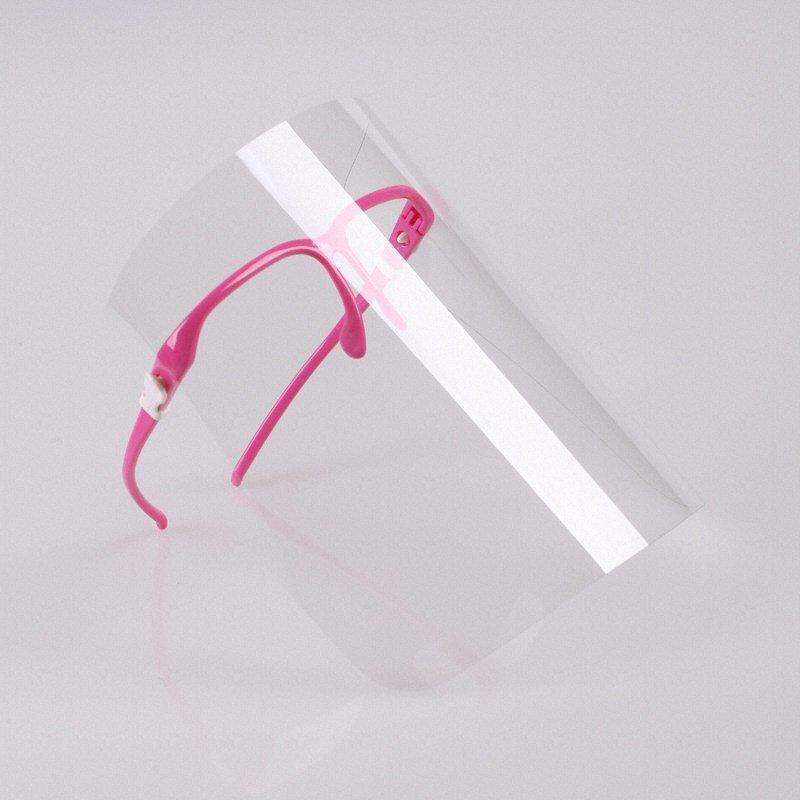 Transparente PET-Material schutz Splash Prävention Gesicht abdeckung shiled Anti-Nebel Kunststoff Heng De küche klar Kontaktlinsen
