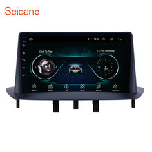 "9 ""Android 8.1 HD Écran Tactile GPS Navigation Radio pour 2009-2014 Renault Mégane <span class=keywords><strong>3</strong></span> avec Bluetooth WIFI supporte carplay CFC"
