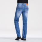 2020 european brands straight washed brand men blue fashion trouser high quality jeans