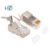 Best Price External CAT7 Cat8 Network Male Rj45 Connector Shielded FTP SFTP 8P8C Module Plug 1.5mm Aperture Gold Plated 50u