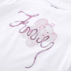 Girls Kids Girls New Beauty Children Fashionable Cotton Girls Kids Short Sleeve OEM Tshirt Boutique Casual Print