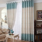 Knitted jacquard fabric designs curtains and drapes china home decor wholesale beautiful
