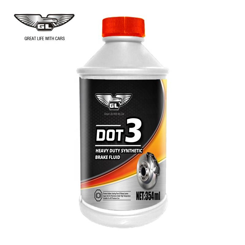Eco-friendly super motor brake fluid dot3 for sale