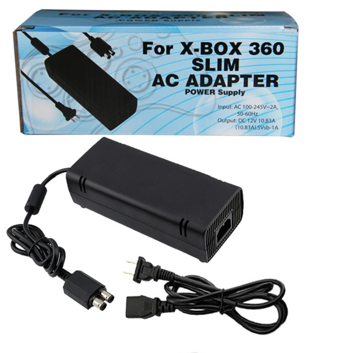Game accessory Power supply US plug ac adapter for xbox 360 slim console