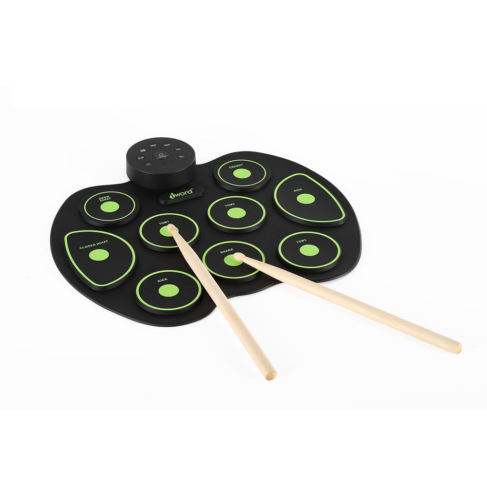 Chinese Internationale Professionele Drum Elektronische Drums Professionele Drum Set Opvouwbare Drum Kit