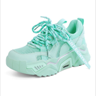 2020 summer girls stylish latest rubber school green sport shoes