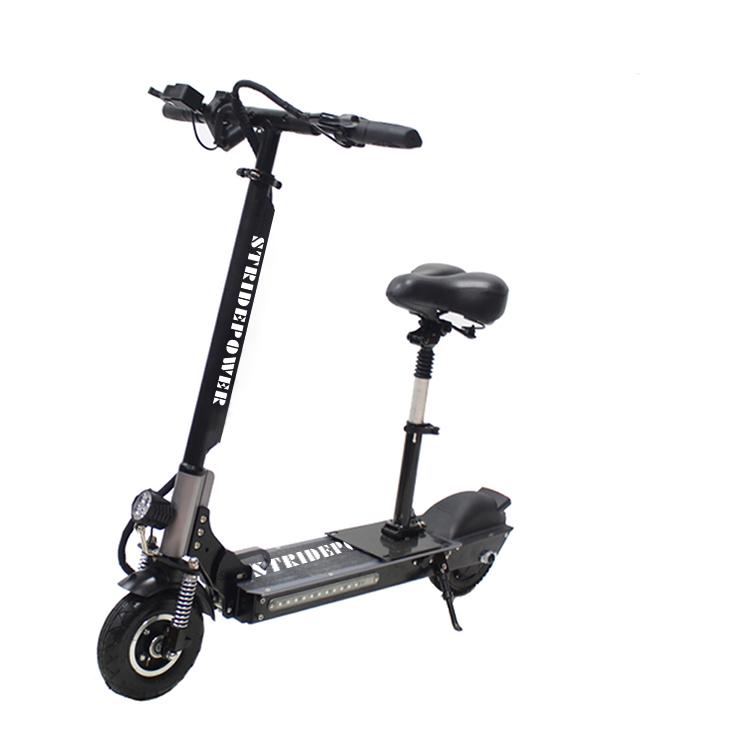 Cina sport a due ruote 1 pezzo posteriore doppia sospensione scooter elettrico