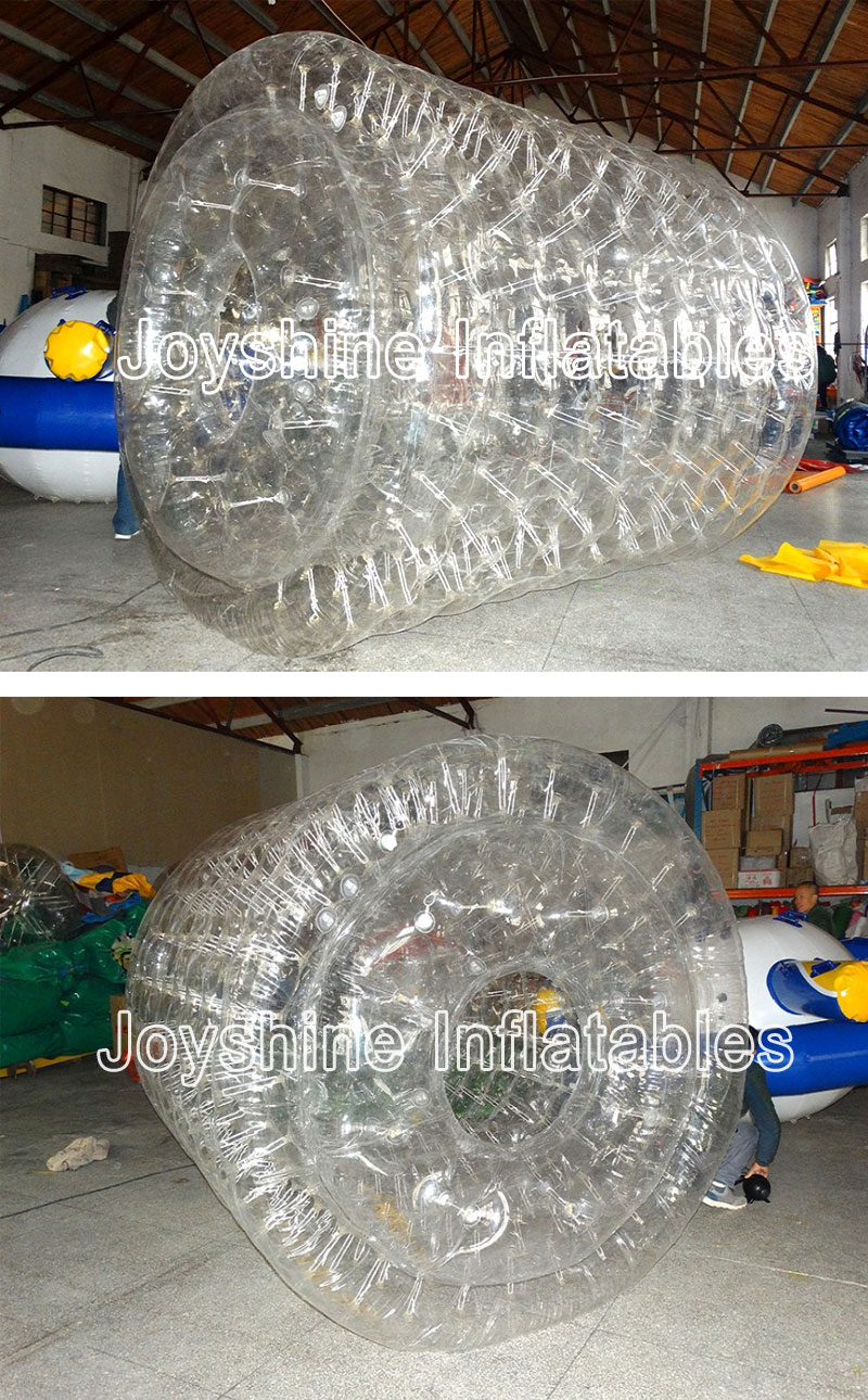 Outdoor Aqua Park Inflatable Water Land Bubble Rolling Toy Balls Commercial Water Roller Ball For Fun