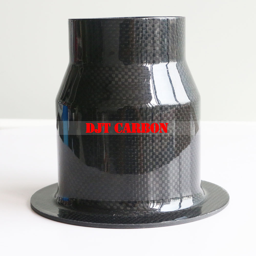Carbon Fiber Cylinder Parts Carbon Fiber Components Cylinder With Edge Carbon Fibre Composite Components