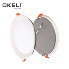 OKELI High quality restaurant aluminum lamp body recessed mounted 8W 15W 22W led panel light