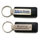 Custom engraved logo key chain keyring men fashion luxury fashion car sublimation metal PU leather keychain