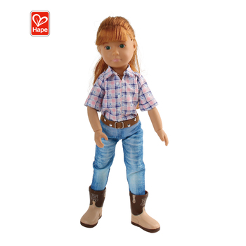 Kruselings Doll Chloe In The Riding Cowgirl Style Baby Doll Girl Toys