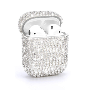 High Fashion for Airpod 1 2 3 Case Cover Diamond for Girls, for Airpods Case Rhinestone