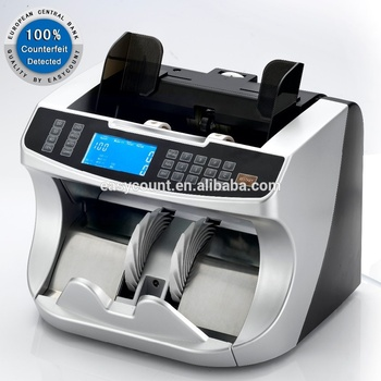 EC950 value mix currency counter machine mixed denomination value counter for Euro