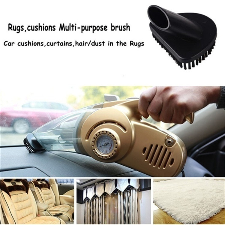 Factory Price Multifunctional High Power 12V 120w 4 In 1 Portable Car Cleaning Vacuum Cleaner