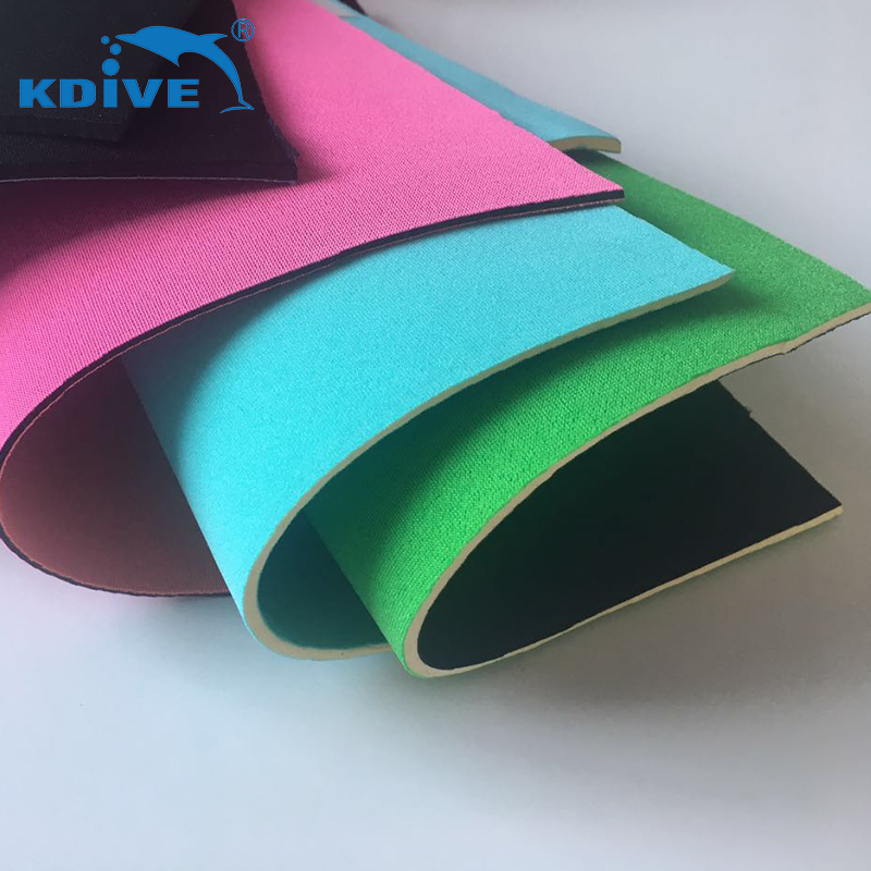 1.5mm Thickness Elastic Laminated Polyester SBR Neoprene Fabric for making mask