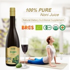 OEM/ODM 100%pure triple concentrate extracted organic noni juice 500mL via natural fresh fruit deep fermented health drink