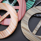 The Buckle The Wood Grain Plastic Buckle For Clothing And Bags Accessories Wholesale