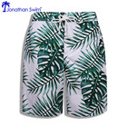 Custom Made Quick Dry Oem Mens Swimwear Long Swim Shorts Wholesale Beach Wear
