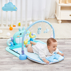 Waterproof foldable playmat soft children musical piano kids activity gym toys baby care game foam floor play mat for babies