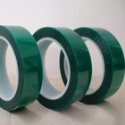Holding Tape High Quality Green Polyester Cable Insulation PET Home Appliance Holding Adhesive Tape