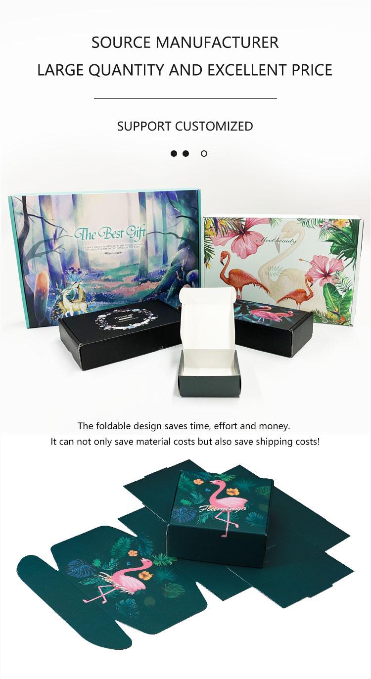product-Dezheng-Flamingo Corrugated Custom Shipping Mailer Box with Logo-img-3