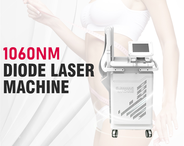 Professional 1060nm laser diode body shaping slimming machine