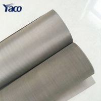 factory supply 304 316 316L ultra fine stainless steel security window screen wire mesh price per meter