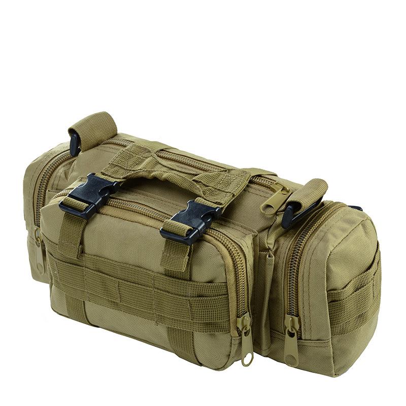 Assault แบบพกพาไนลอน multifunction กลางแจ้งยุทธวิธีแคมป์เดินป่ากีฬากระเป๋าเป้สะพายหลังสำหรับกระเป๋าเก็บเครื่องมือ