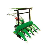 Hot Sale New Design Most Popular Easy Operate Small Tractor Mounted Corn Maize Forage Combine Harvester for Sale
