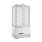 Fruits Changer Vertical Display Refrigerator L Shape Showcase Fruits