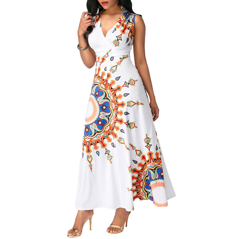 1202-MK11 Clothes manufacturer cheap wholesale African Dashiki designs print styles long maxi <strong>dresses</strong> for women