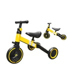 Children's tricycle bicycle 1-3 years old baby toddler balance car three-in-one stroller bicycle