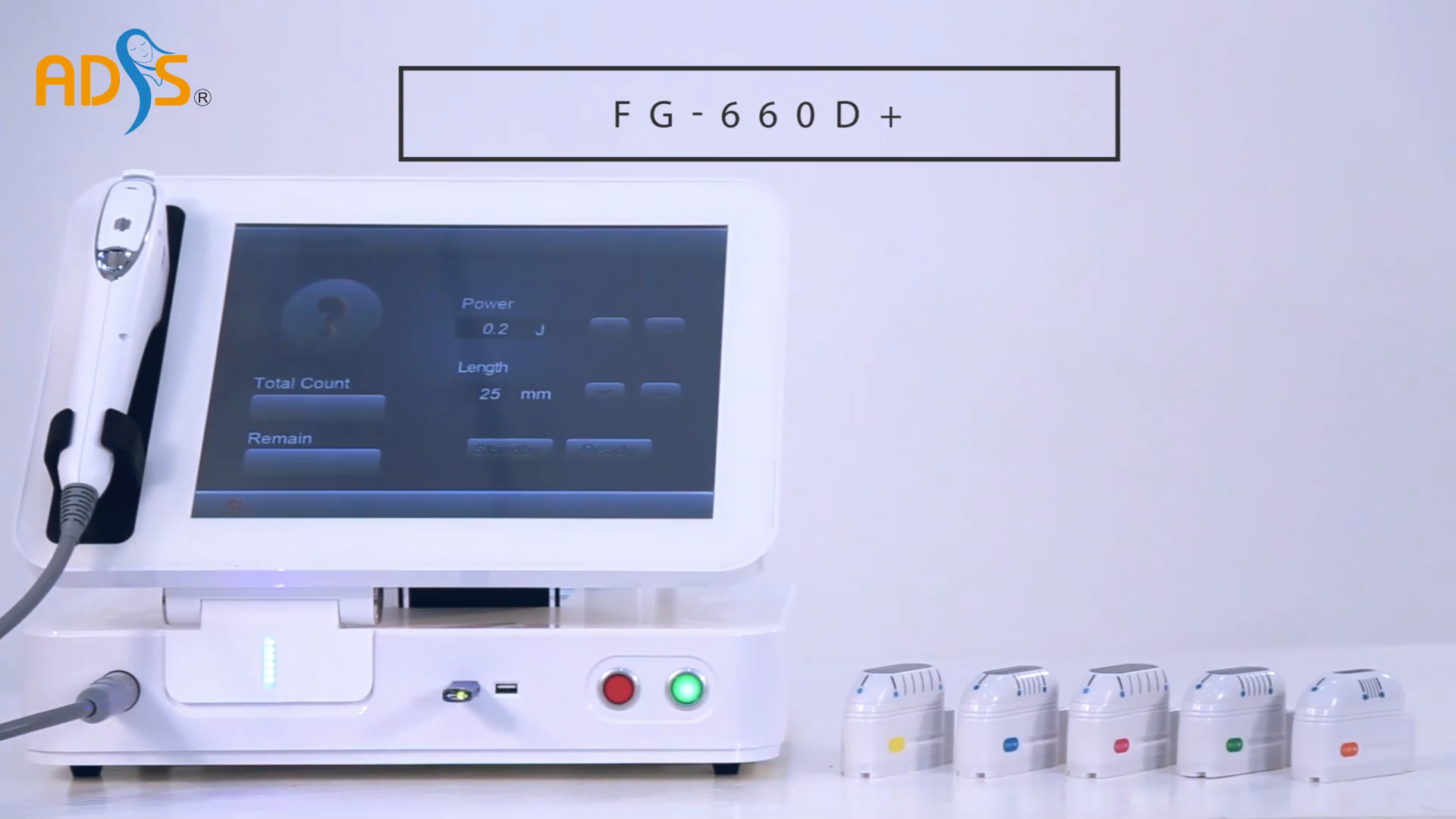 ADSS Recentes 3D 4D HIFU Ultra Terapia Da Pele Aperto HIFU