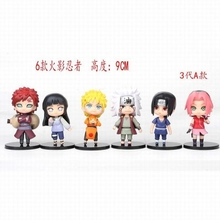Groothandel <span class=keywords><strong>Naruto</strong></span> Collection Model Speelgoed Anime PVC Figuur 6 stuk/<span class=keywords><strong>set</strong></span> Decoratie