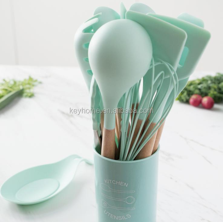 High Quality Heat Resistant Cooking Safe bundle kitchen utensil set