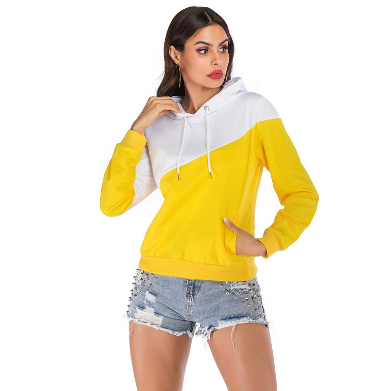 Hot Sale Custom Printing Winter Casual Cotton Women Hooded Shirt
