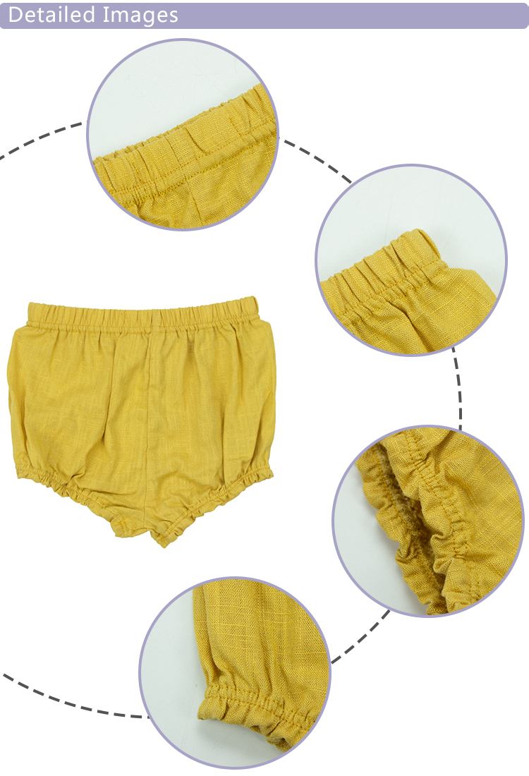 bloomers baby clothes pure color boutique fashion design simples quality well baby unisex baby bloomer