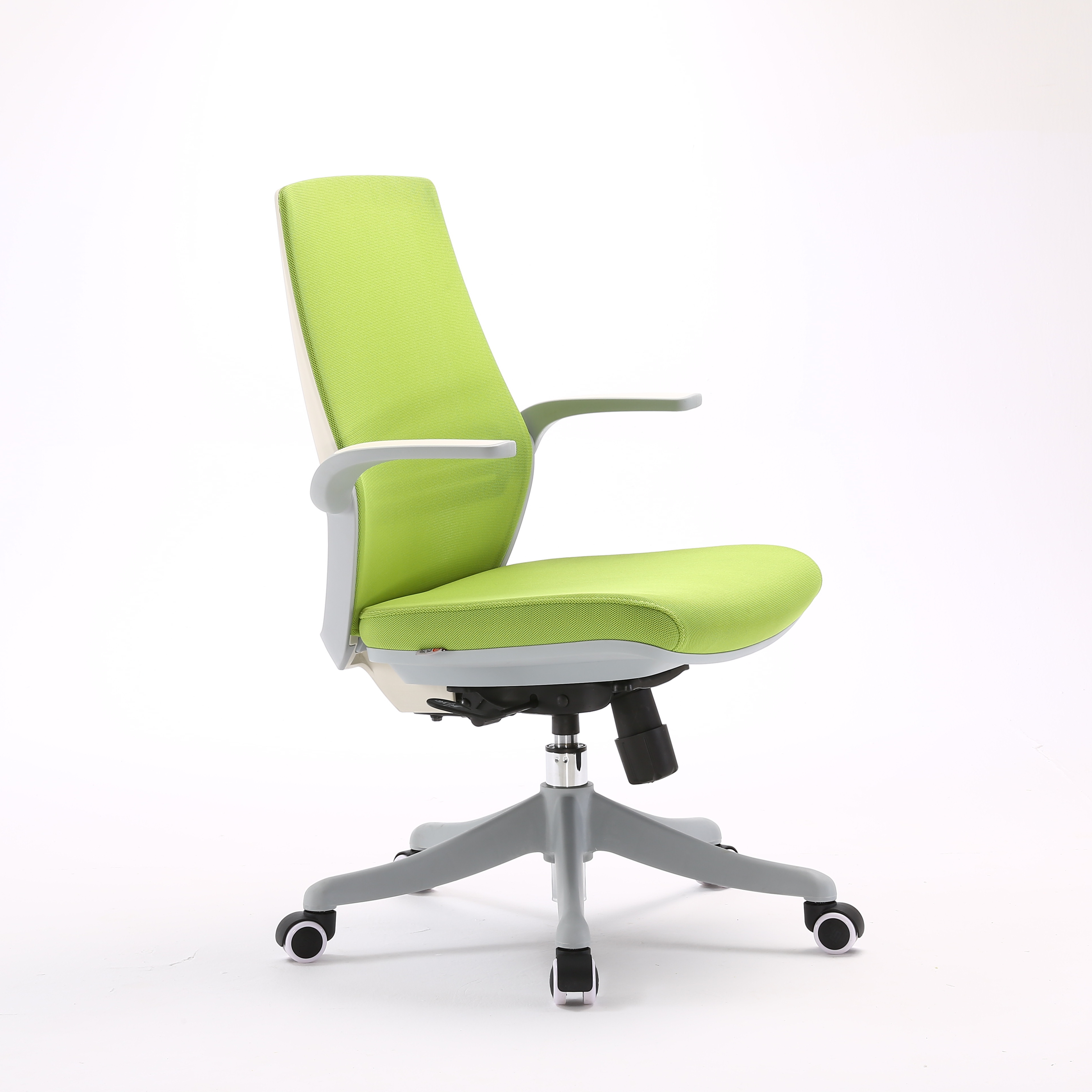 Office Chair Ergonomic Support With Advanced Design Middle back Green Color silla de oficina
