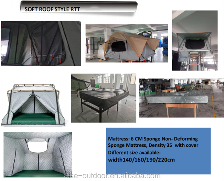 OEM Production gazebo outdoor tent four season foldable car garage roof top tent