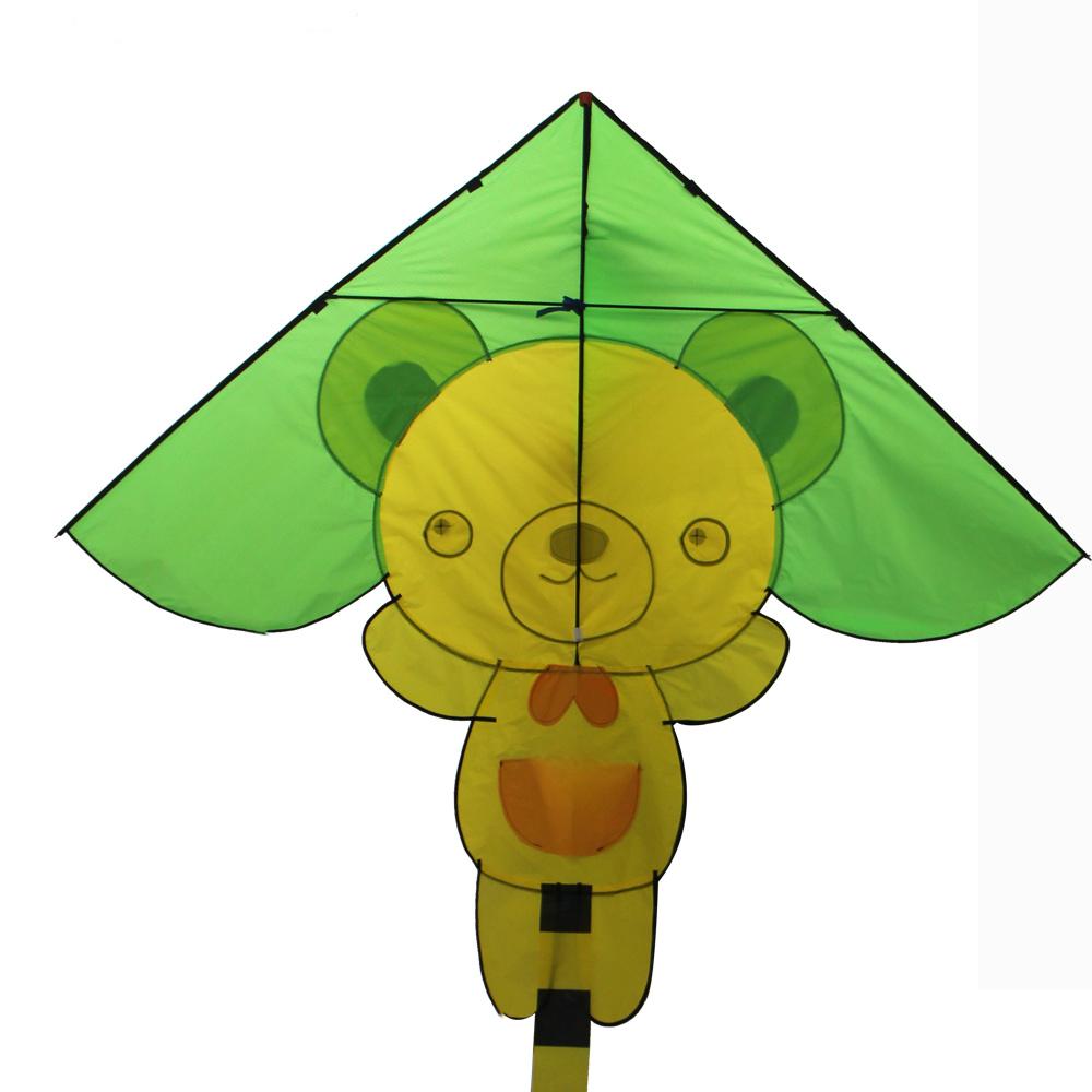 Профессиональные забавные мультяшные игрушки животные snylon треугольник Летающий hape кайт для детей