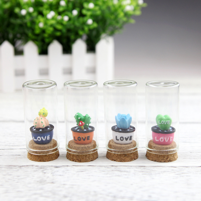 Miniature Garden Furniture Resin Plant Decoration DIY Tiny Garden Micro Landscape Ornaments Room Desktop Decorations