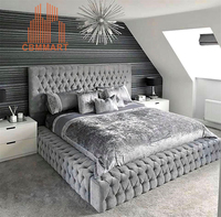 bedroom furniture modern bed hotel projects