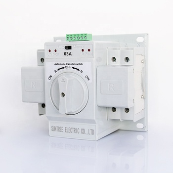 Hot Sale Micro-breaking Automatic Power Transfer Switch for Generator ATS 63A