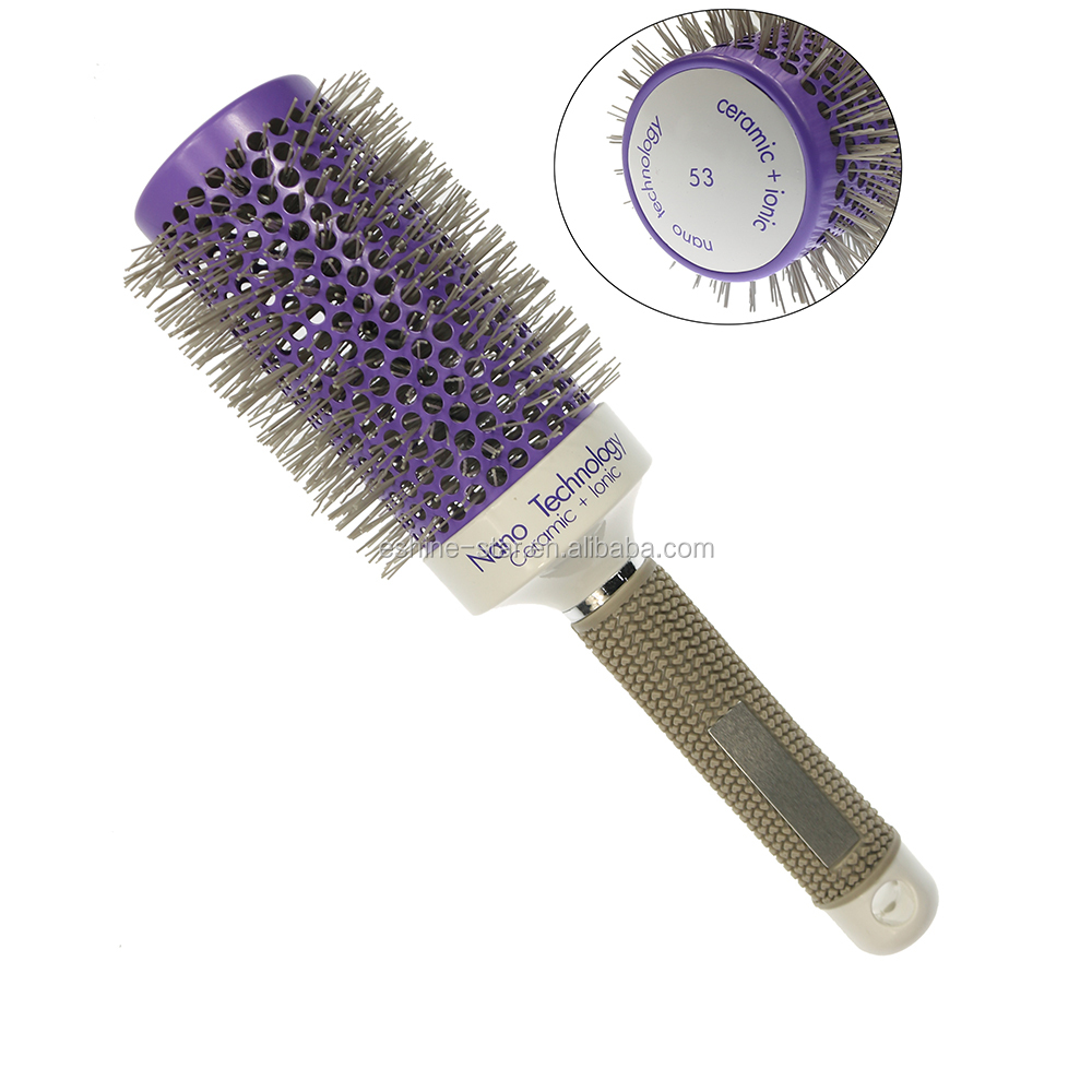 Amazon Best selling Plastic Hair Brush Wholesale Hair Salon Products