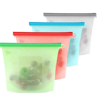 Home Preservation Bags BPA Free reusable Container Versatile Cooking silicone food storage bags