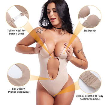 Nude Women EMS Slimming Udergarment Full Female Body Suit