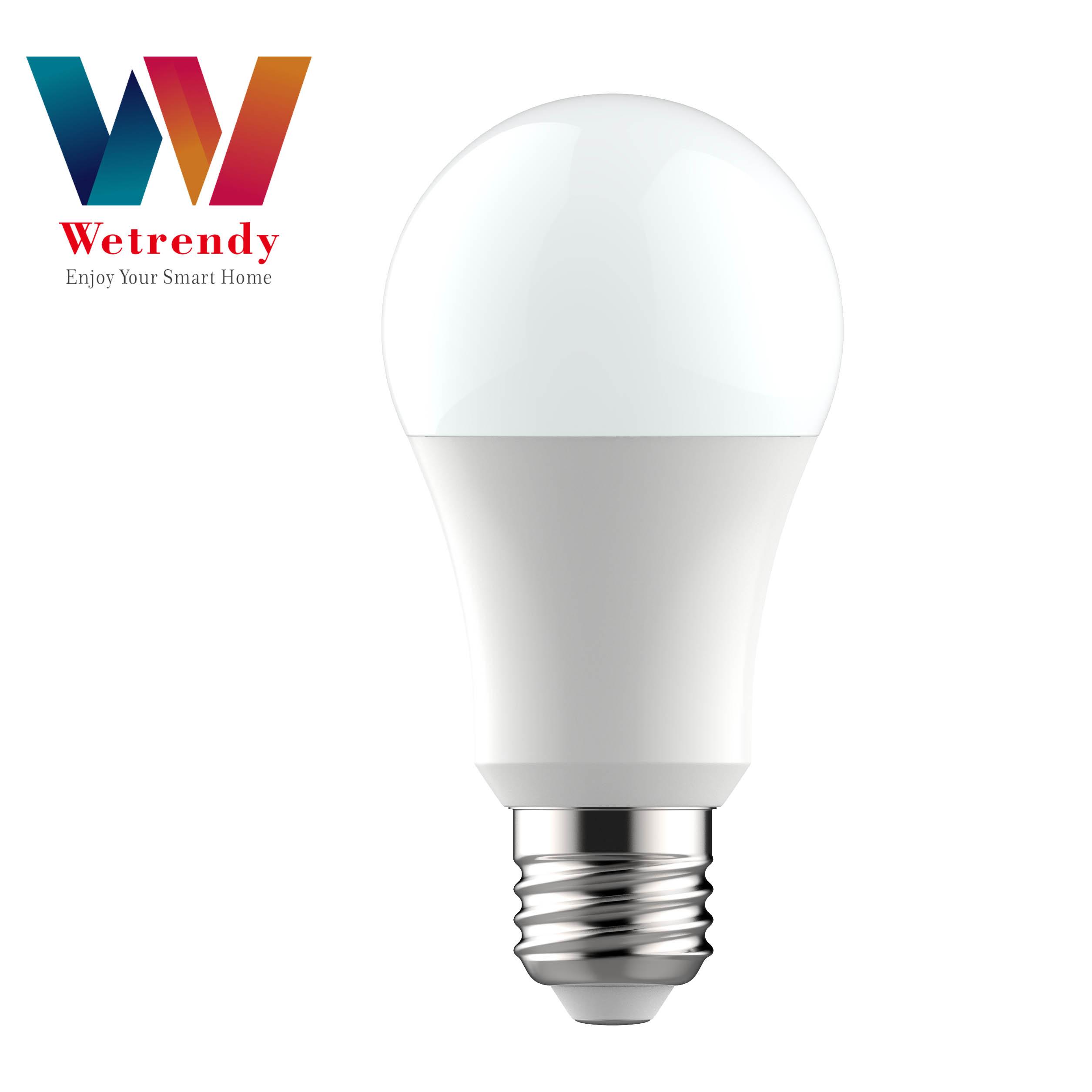 Tuya APP remote control smart wifi E27 led bulb 7W 9W wifi led bulb smart wifi bulb